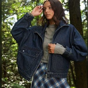 URBAN OUTFITTERS BDG Audrey Oversized Denim Jacket